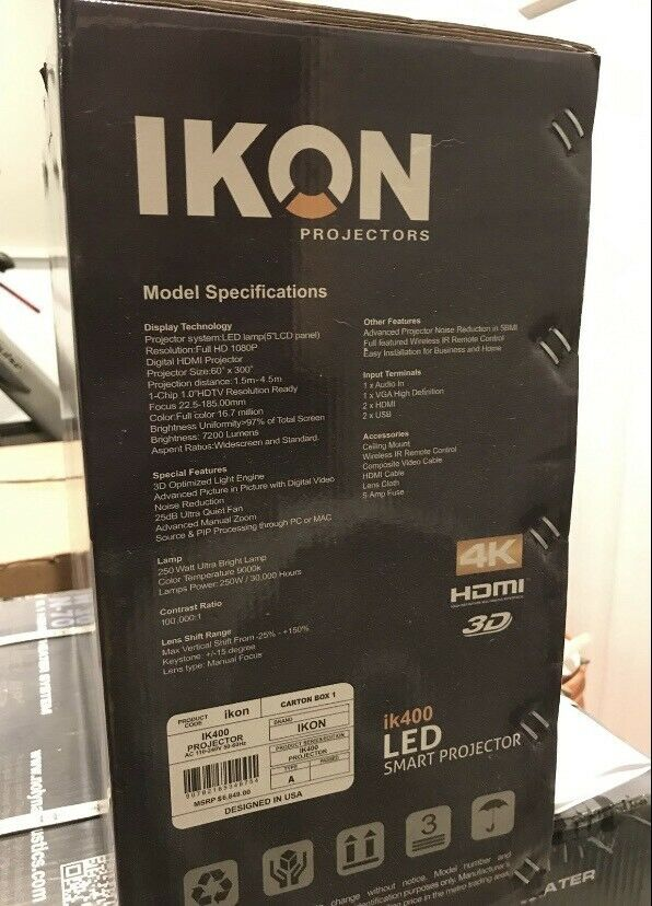 Ikon Projector IK-400