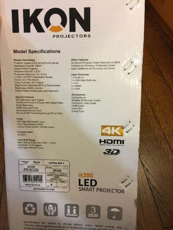 Ikon IK200 Projector Scam